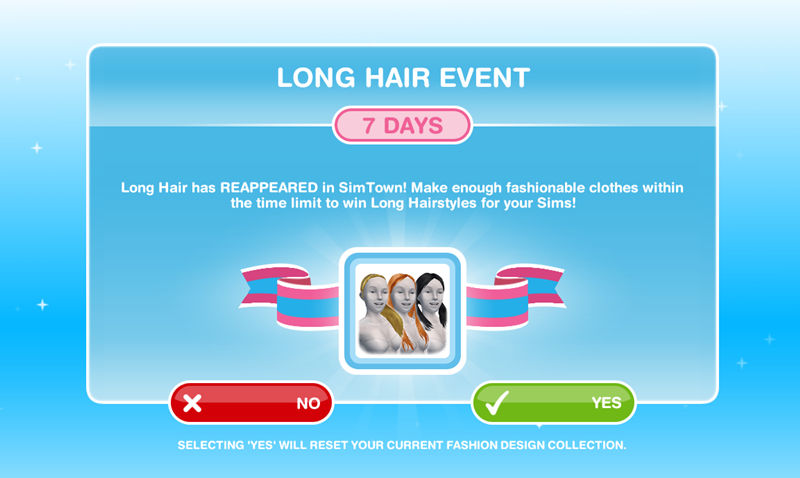 How To Complete Long Hair Event The Sims Freeplay We Are Simer