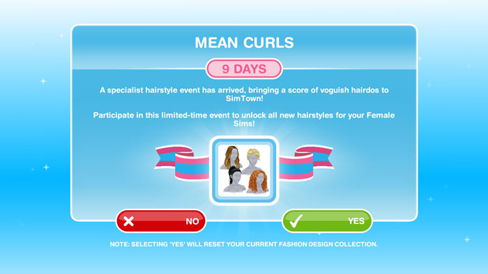 How To Complete Mean Curls Event The Sims Freeplay We Are Simer