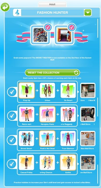 Fashion Hunter Hobby The Sims Freeplay We Are Simer
